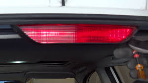 how to replace the third brake light on a 2004 toyota matrix
