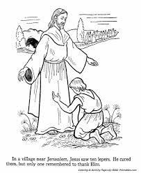 Jesus Teaches Coloring Pages 16