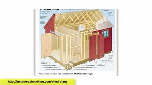 Storage Shed Plans 8x12 by Shed Plans 12x16 Shed Plans For Sale Shed Plans 8x10 Duyan Youtube