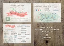 Rustic Inspired Wedding Invitation