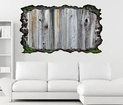 3d wandtattoo holz grau brett holbretter optik selbstklebend wandbild wohnzimmer wand aufkleber 11m1711