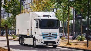 Mercedes-Benz EActros: Heavy-duty Electric Truck.