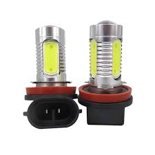 wljh 2x h8 led cob h11 led lighting 12v car driving l bulb for
