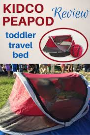 kidco peapod review the most compact bed for toddler travel
