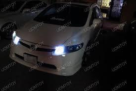 led daytime running lights upgraded on a honda civic si ijdmtoy