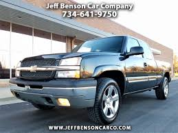 100 2005 Chevy Truck For Sale Used Cars For Wayne MI 48184 Jeff Benson Car Company