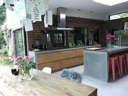 küche mit holz und beton küche beton wohnung küche