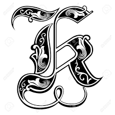 Letter K In Different Styles Clipart Letters