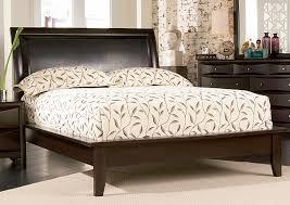Moreno Valley Furniture Phoenix Cappuccino Platform King Bed