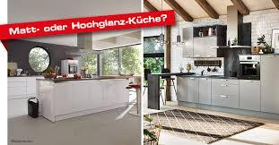 hochglanz oder matte küchenfronten die vor und nachteile
