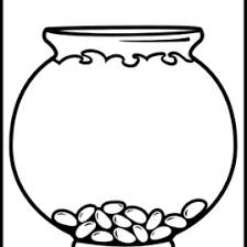 Adult Fish Bowl Coloring Page Printable