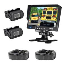 100 Truck Camera System New Pyle PLCMTR72 Weatherproof Rearview Backup And Monitor