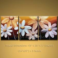Modern Oil Paintings Contemporary Canvas Art Egg Flower 2014