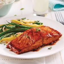 cuisiner filet de saumon filet de saumon sauce barbecue au vinaigre balsamique recettes