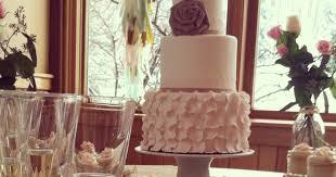Lola Pearl Bake Shoppe Rustic Elegance Wedding Cake Cupcakes