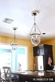how to replace recessed lighting with pendant design ideas change