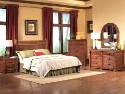 Pier Bedroom Set Wicker Furniture Inspirational Rattan Tropical Black