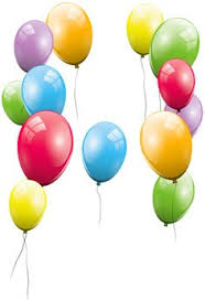 236x345 Transparent Colorful Balloons Clipart Clipart
