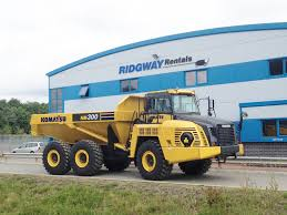 Dump Truck Contract Hire | Komatsu HM300-3 With 28 Ton Capacity