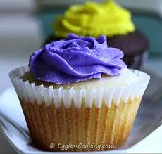 Eggless Vanilla Cupcakes Recipe