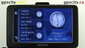 100 Garmin Commercial Truck Gps The World Clock On The Dezl 560 Ing GPS With GPSCity