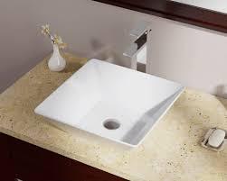 Where Are Decolav Sinks Made by V170 White White Porcelain Vessel Sink