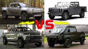 100 Small Pickup Trucks For Sale Electric Compared Tesla Rivian Atlis Bollinger