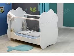 chambre altea lit bébé sofamo altea blanc 60x120 pas cher ubaldi com