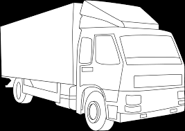 100 Truck Line Cargo Art Free Clip Art