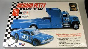 Richard Petty Team Dodge Dart Sportsman Race Car- Ford LN Hauler ...
