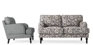 7 Floral Design Gray Sofas, Cindy Crawford Home Sidney Road Gray ... Sofa Homely Design Sofa Chairs Fantastic Sofas And 200 Best Images On Pinterest 3 Seater And Blossoms Johnny Reversestitch Armchairs From Roger Chris Our 30 The Best Ikea Uk Pertaini About Armchair Designs Bazar De Coco Collection Of Grey 15 Ideas Of Marks Spencer Chair Loft Eaton Bedroom White Company Fniture Linen Mesmerizing Ikea Leather Traditional 18 Cross Leg Lounge Stonewash Black