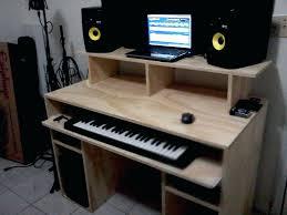 Studio Recording Desk Amazing Home Design Homes Intended For