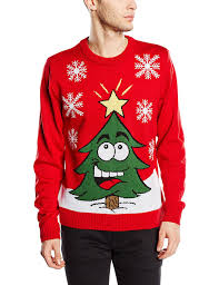Christmas Tree Amazon Uk by Christmas Jumper Novelty Retro Funny Men Women Uk Unisex Red