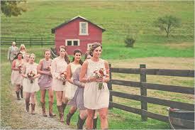 Bridesmaid Dresses For Barn Wedding 19