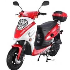 PRO TT VIP50 4 Stroke 50cc Gas Scooter W Sporty Style With Aluminum Piston