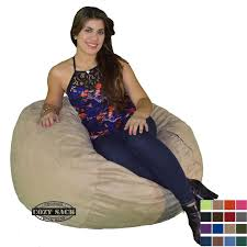 100 Foot Cozy Bean Bag Chair 3 Bean Bag Sack Small Pick Your Color