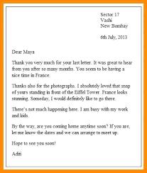 Informal Letter format format Informal 4 Informal Writing 2