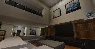 Minecraft Kitchen Ideas Ps3 by Minecraft Living Room Designs U0026 Ideas Youtube Pertaining To Modern