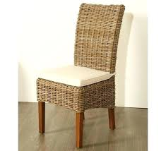 chaises en osier chaise salle a manger rotin chaise enfant osier chaise de salle a
