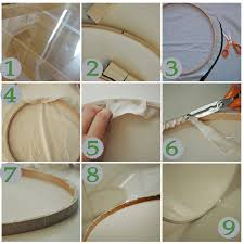 5 Is The Magic Number DIY Drum Lamp Shade Tutorial