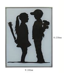 Gift Home Family Drawing Glass Classic Art Full Color Hotel Coffee Shop Furniture Decoration Circular Hanging