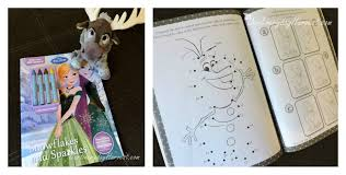 Complete With Tons Of Activities And Coloring Pages Little Frozen Lovers Are Sure To Enjoy This One