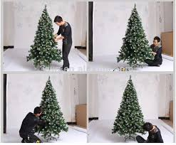 26m Bendable Christmas Tree White Tip Pvc Pull Up