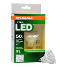 sylvania ultra 50 w equivalent dimmable bright white mr16 led spot
