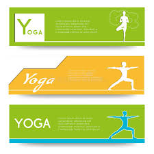 Download Yoga Vector Banner Stock Illustration Of Layout