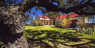 The Back Forty of Fredericksburg Texas Hill Country bed and