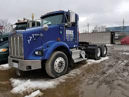100 Mckinley Trucking 2006 KENWORTH T800 TA TRUCK TRACTOR DAY CAB VIN 1XKDD49X86J126854