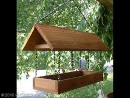 How To Build A Covered Platform Bird Feeder WoodWorking Projects