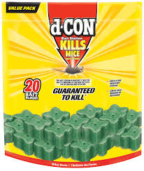 Halloween Candy Tampering by D Con Corner Fit Mouse Poison Bait Station 1 Trap 20 Bait