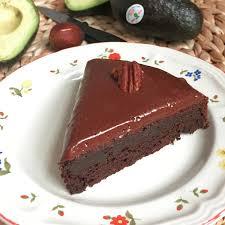 dessert rapide chocolat banane recette de gâteau choco avocat glaçage à la crème sûre selon bob